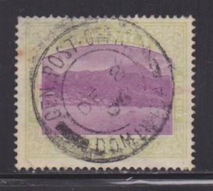 Dominica 31 used neat cancel nice color scv $ 53 ! see pic !