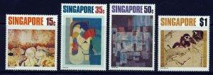 SINGAPORE MALAYSIA 1972 Contemorary Art Set SG 174 to SG 177 MINT