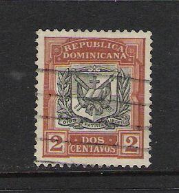 DOMINICAN REP. DOMINICANA 128 VFU ARMS 778G
