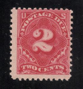 US# J62 - Carmine Rose - Postage Due - MINT -  O.G. - N.H.