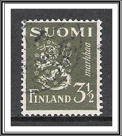 Finland #176A Coat of Arms Used