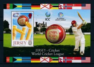 [58005] Jersey 2008 Cricket ICC World league MNH Sheet