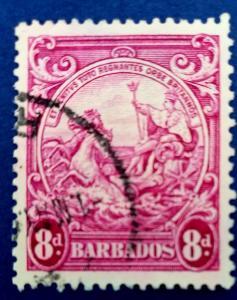 Barbados Scott # 199A Used (A213)