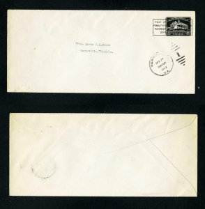 FREE SHIPPING - # U527 Post Office Penalty entire to Berryville, VA - 4-25-1944