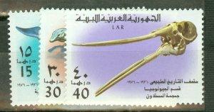 P: Libya 612-7 MNH CV $35.15; scan shows only a few