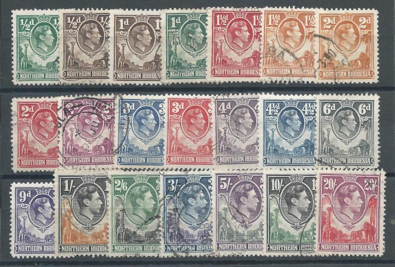 N. Rhodesia 25-45 U