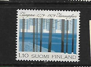 FINLAND, 620, MNH, VIEW OF TAMPERE 1979