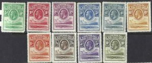 Basutoland 1933 SC 1-10 MLH SCV $368.00 Set