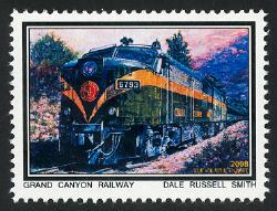 Grand Canyon Railway: Dale Russell Smith - Cinderella - MNH