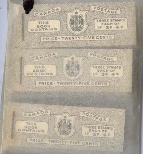 Canada -1943 War Issue Complete English Booklets X 15 #BK38a