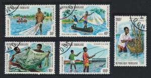 Togo Lagoon Fishing 5v SG#1008-1012