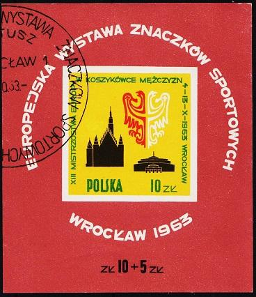 Poland. 1963 Miniature Sheet. S.G.MS1410a Fine Used