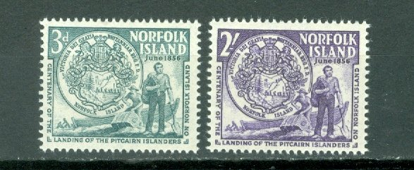 NORFOLK SEAL #19-20...SET...MNH...$4.00