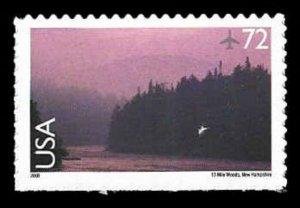 C144 72c New Hampshire River Scene, MNH, (PCB-3)
