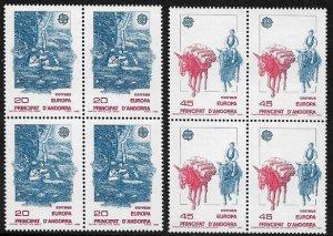 Andorra, Spanish #184-5 MNH Set - Europa - Wholesale X 4