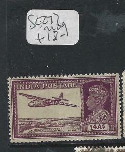 INDIA    (PP2003B)  KGVI  14A AIRPLANE  SG 272   MOG