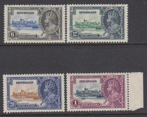Seychelles 1935 Silver Jubilee Set - MNH (Scott 118-121)