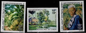 LAOS Scott C72-C74 MNH** stamp set