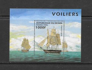 SHIPS - BENIN #856  OPIUM CLIPPER  MNH