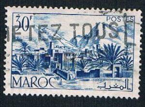 French Morocco 270 Used Todra Valley (BP736)