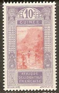 1925 French Guinea Scott 70 Ford at Kitim MNH