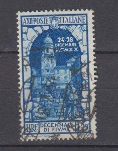 J29665, 1934 italy used #318 st vito,s tower