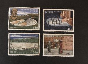 Cyprus 1964 #237-40 MNH SCV $3.10