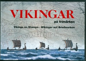 Sweden. Book/Folder 1990,15 Pages. Vikings On Stamps. With Stamps.