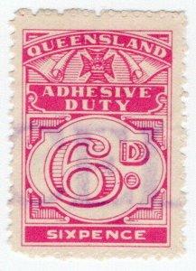 (I.B) Australia - Queensland Revenue : Adhesive Duty 6d