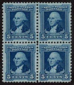 USA SC #710 MNH B4 1932 5c Washington CV $9.00