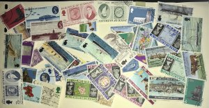 Guernsey #1//94 Used CV$20.00 (48 stamps mostly in complete sets)