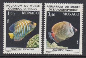Monaco 1560-1 Aquarium mnh