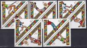 Cook Islands #254-8 MNH CV $6.60 (K2664L)