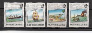 Gambia 519-522 MNH