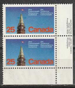 #740 Canada Mint OGNH pair