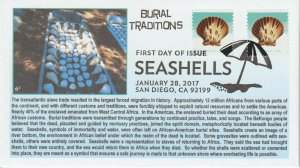 6° Cachets 5164 Seashells used in African Burial Traditions