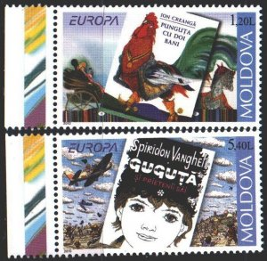 Moldova. 2010. 703-4. Posters, Europe-sept. MNH.