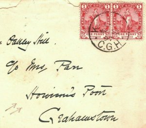 South Africa COGH Cover *Howieson's Poort* 1897 ARCHAEOLOGY {samwells}MC162