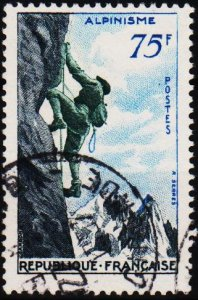 France. 1956 75f S.G.1300 Fine Used