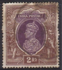 India Sc#163 Used