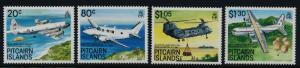Pitcairn Islands 323-6 MNH Aircraft, Helicopter