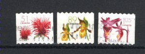 Canada #2128-30  -1  used  VF 2005 PD