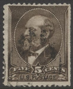 STAMP STATION PERTH US #205 Garfield Used