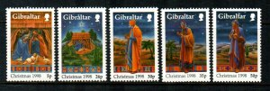 Gibraltar #774-778  MNH  Scott $5.95