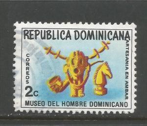 DOMINICAN REPUBLIC 713 VFU 944D-9