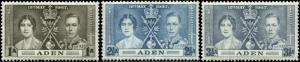 Aden Scott #13-#15 Complete Set of 3 Mint