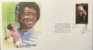 Fleetwood 3936 Tennis Great Arthur Ashe Richmond, VA
