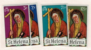 St. Helena Scott #257 To 260, St. Helen, Easter Issue From 1971