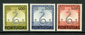 PORTUGAL 1967 RHEUMATOLOGY CONGRESS Set SNAKES Sc 1008-1010 MNH