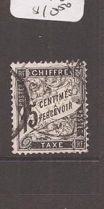 France Postage Due SC J17 VFU (5cbf)